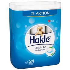 Hakle Toilettenpapier Klassische Sauberkeit weiss FSC